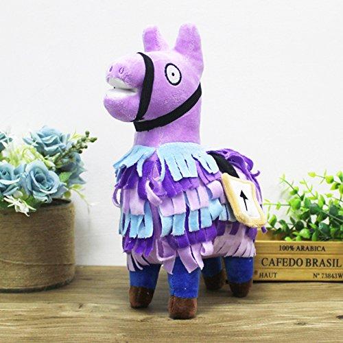 Jlecc 25CM Fortnite Troll Stash Llama Plush Toy Soft Alpaca Horse Stash Stuffed Doll Toys Kids Birthday Gift by Jlecc