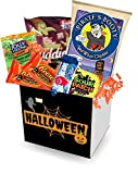 "HALLOWEEN care package | Halloween goodies, gift basket, all hallows eve - 4"" x 4"" box"