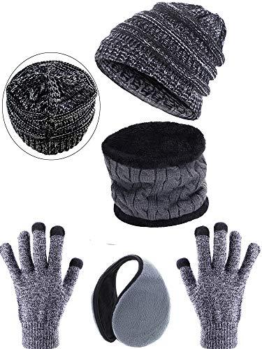 Cap Hat Scarf Set - 7