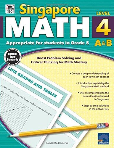 Singapore Math, Level 4 A & B