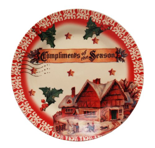 - Compliments of the Season Collectible Accent Plate