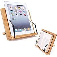 Yesurprise Desktop Cookbook Holder Rest Reading Paper Typing Stand Tablet