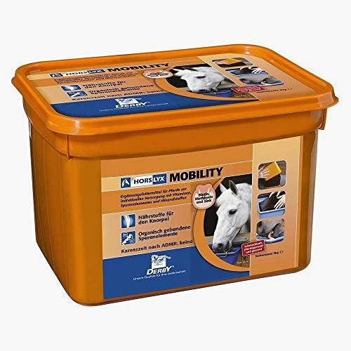 orange *Horslyx* Derby Mobility Leckmasse Leckschale MSM 5kg