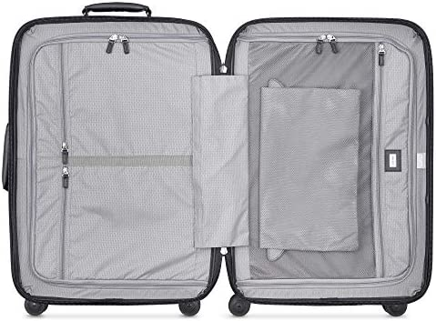 DELSEY Paris Chatelet Hard+ Hardside Luggage with Spinner Wheels, Black, Carry-on 21 Inch