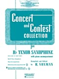 Concert and Contest Collection for Bb Tenor Sax, H. Voxman, 1423477200