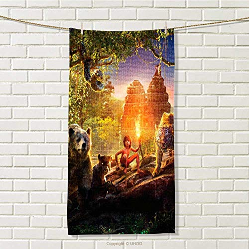 Panther Jungle Book - linyangpt-home Hooded Towel W 8