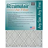Accumulair Emerald 8x24x1 (Actual Size) MERV 6 Air Filter/Furnace Filters (4 pack)