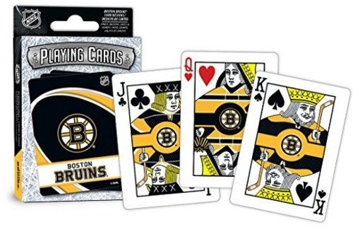 MasterPieces NHL Boston Bruins Playing Cards (Bruins Boston Card Nhl)