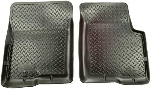 Husky Liners 30201 Fits 2002-07 Jeep Liberty Classic Style Front Floor Mats, Black