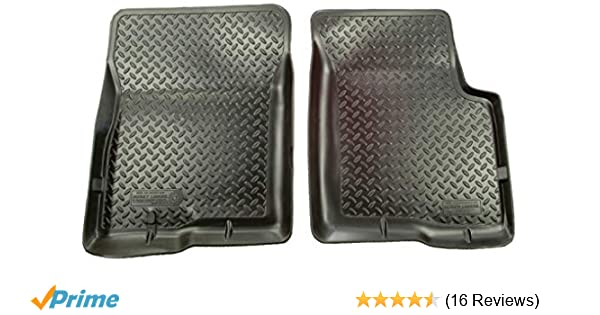 Husky Classic Style Black Front Floor Liners//Mats for Jeep Liberty 2002-2007