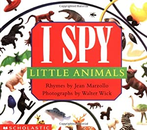 Board book I Spy Little Animals: A Book of Picture Riddles Book
