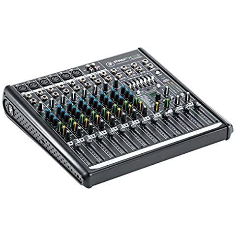 Mackie PROFX12V2 12-Channel Compact Mixer with USB and Effects (Sound Boards)