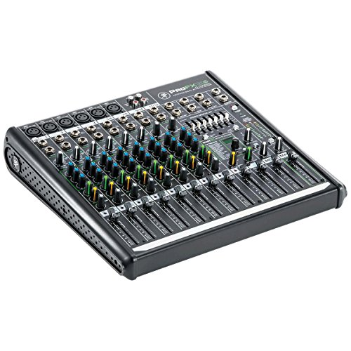 10 Channel Mixer (Mackie PROFX12V2 12-Channel Compact Mixer with USB and Effects)