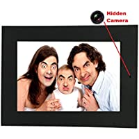 Photo Frame Hidden Camera & DVR, Best Spy Cam Picture Frame Available, Features Spy Camera, Video Recorder, Motion Detection & PC Webcam