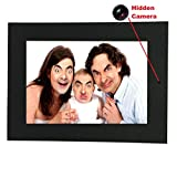Photo Frame Hidden Camera & DVR - Best Spy Cam Picture Frame Available - Features Include Photos - Videos - Motion Detection & PC Webcam