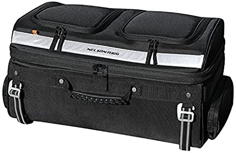 Nelson Rigg Motorcycle Tour Trunk Rack Bag Fits most Goldwing, Harley Davidson Ultra and Indian Roadmaster - Tour Rack