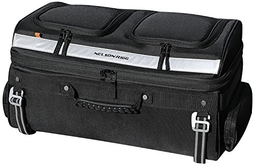 Nelson Rigg Motorcycle Tour Trunk Rack Bag Fits most Goldwing, Harley Davidson Ultra and Indian Roadmaster racks by Nelson-Rigg