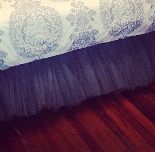 Tullu Tutu Fuller Crib Skirt / Mini Crib Skirt by DecorWithShams