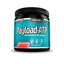Elemetx Payload-ATP TRIAL SIZE - High Endurance Pre-Workout – Citrulline, Betaine, Beta-Alanine – Real Cellular ATP Performance - No Crash or Overstimulation – Best in Class Formula
