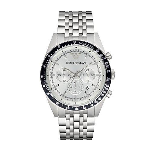 Emporio Armani Men's AR6073 Sport Silver Watch (Watch Emporio Armani Men)