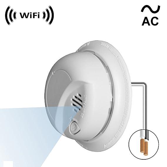 WF-404VAC Spy Camera with WiFi Digital IP Signal, Recording & Remote Internet Access