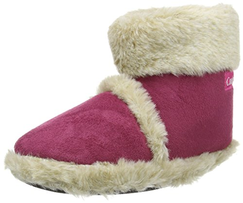 Microsuede Ladies Fluffy Coolers Lined Collar Slippers Textile New Boot Upper Fushia Snugg Fur xABFqnI0I