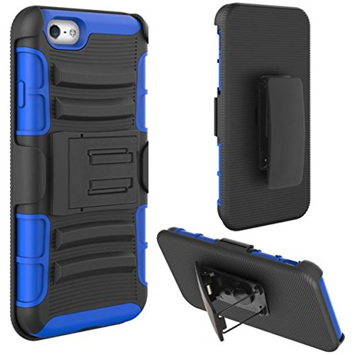 best service 43dff a691e Amazon.com: MetroPCS iPhone 6S Case, Shockproof Case Holster Hybrid ...