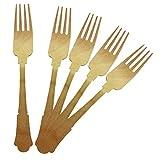 Birchware Elegant - Compostable Wooden Forks - 100/pcs.