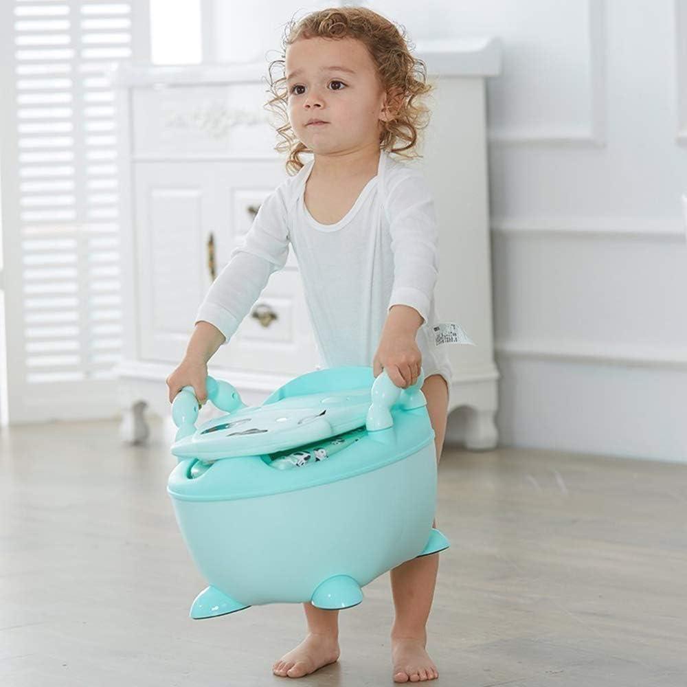 ZHENAI Orinal beb/é Infantil Orinal ni/ños Inodoro con Sombrero