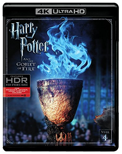 Harry Potter and the Goblet of Fire (Ultra HD/BD) [Blu-ray] (Harry Potter Collection 8pk 4k Ultra Hd Digital)