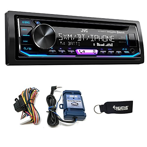 JVC KD-R990BTS CD Receiver w/Bluetooth, Includes SWI-RC Steering Wheel Control ()