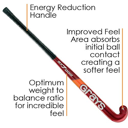 Grays GX7000 Composite Field Hockey Stick (38 Inches) by Grays (Image #2)