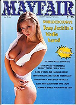 mayfair magazine volume 24 number 1 with veronica doll