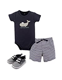 Hudson Baby - Set de Pantalones Cortos,55196S, Bebé, Unisex