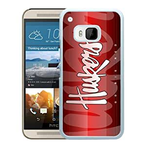 Ncaa Big Ten Conference Football Nebraska Cornhuskers 7 White Abstract Personalized Picture HTC ONE M9 Case