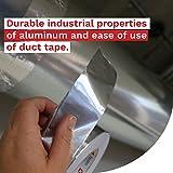 XFasten Aluminum Foil Reflective Duct Tape, 3.6