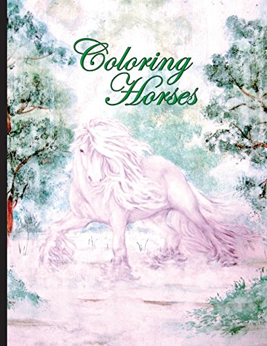 Coloring Horses [Madison, Roin] (Tapa Blanda)