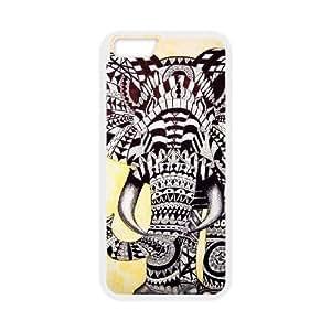 iphone6 4.7 inch Phone Case White Elephant Pattern HUX304102