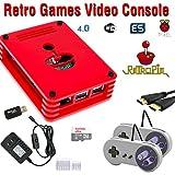 Raspberry Pi 3 Based Retro Video Game System - RetroPie - Retro Games - 32GB Edition