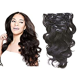 Loxxy Real Remy Human Clip In Hair Extensions 4B 4C Kinky Coily Clip Ins For Black Women Natural Hair Clip Ins With Big…