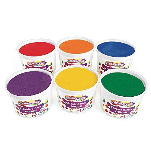Colorations Classic Colors Best Value Dough - 18 lbs. (Item # BVRD)