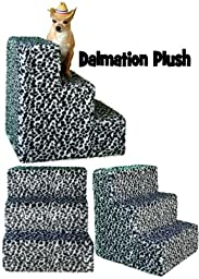 Pet Flys Dalmation Super Plush Pet Steps