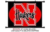 Nebraska Cornhuskers NCAA Fabric Wall Scroll Poster (32 x 24) Inches