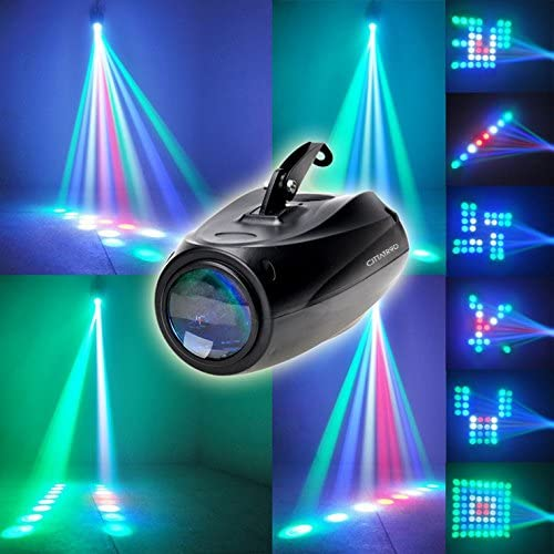 CITTATREND-Iluminación de Discoteca Proyector 64 LEDs RGB 10W ...