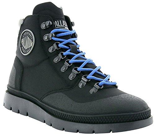 Mid Multicolore Hiker Nero Uomo Nero Palladium Boots Pallasider qnfUgXxt