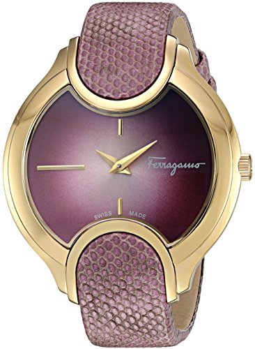 Salvatore-Ferragamo-Womens-Signature-Quartz-Stainless-Steel-and-Leather-Casual-Watch-ColorRed-Model-FIZ130015