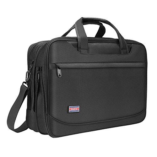 Briefcase for 17 Inch Laptop, Business Travel Bag, Expandabl