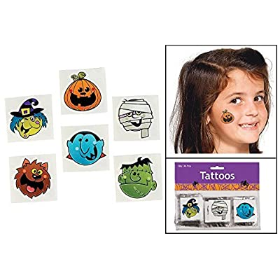 BOO BUNCH TATTOOS (6 DOZEN) - BULK: Toys & Games