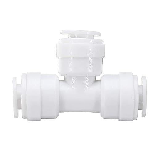 ChaRLes 1/4 Pulgadas De Tee Tipo Tubo De Agua Conector Rápido ...