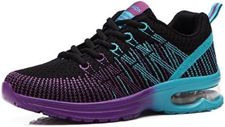 Zapatos de Running para Hombre Mujer Zapatillas Deportivo Outdoor Calzado Asfalto Sneakers Negro Rojo Gris 35-46: Amazon.es: Zapatos y complementos